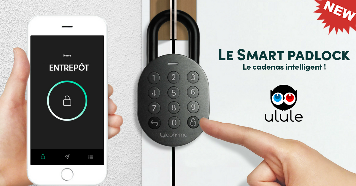 Cadenas intelligent avec application mobile